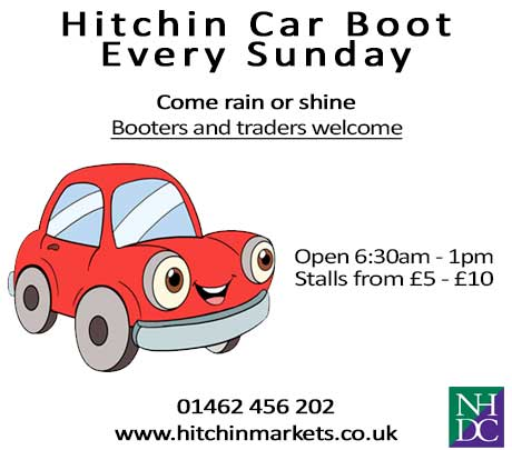 HITCHIN CAR BOOT