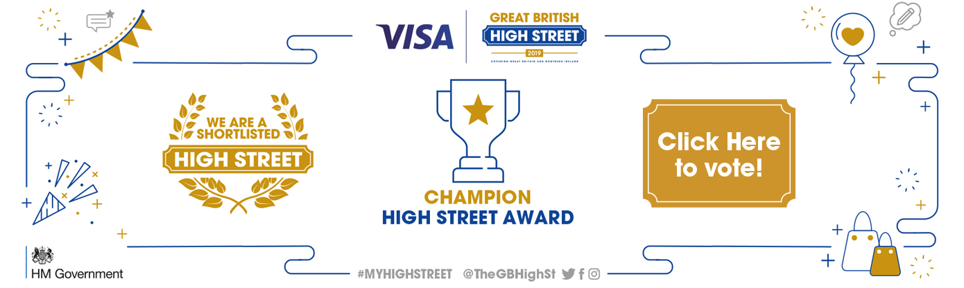 Vote for Hitchin High Street