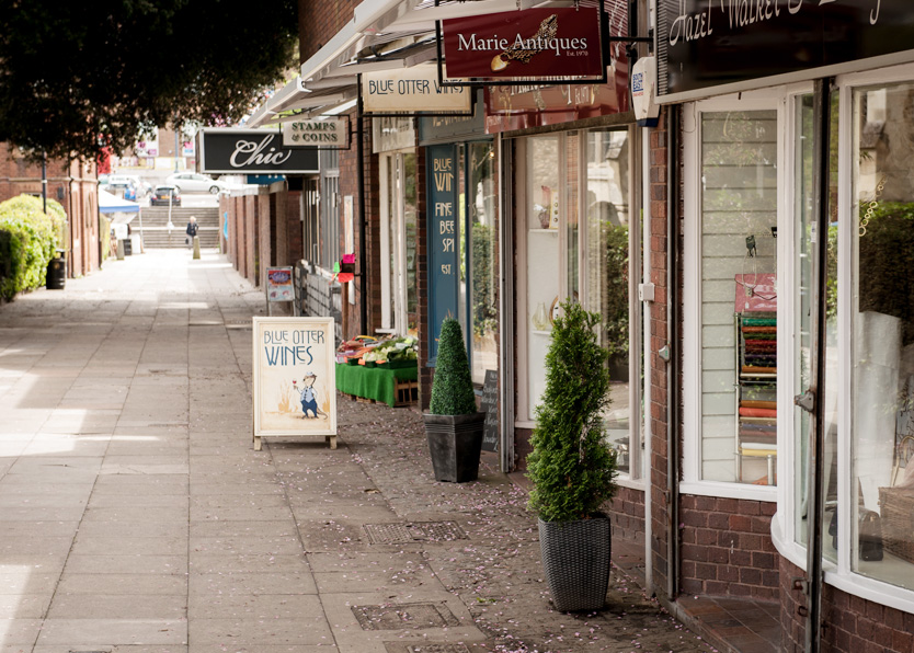 Explore Hitchin shops